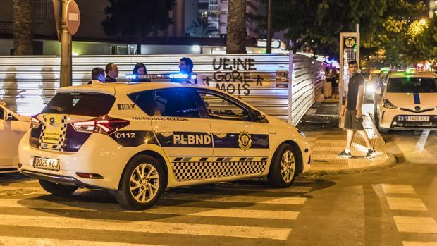 Imagen de archivo de agentes de la Policía Local