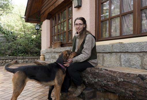 Patricia Uslé, una vecina afectada