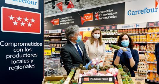 Campaña de promoción de productos regionales en una gran superfice