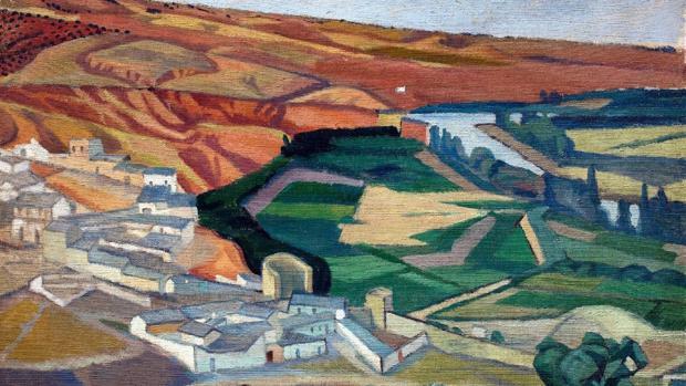 «Paisaje cerca de Toledo», de Diego Rivera
