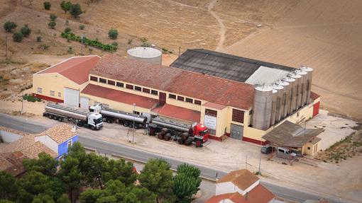 Edificio de Bodega Ontalba, en la provincia de Albacete