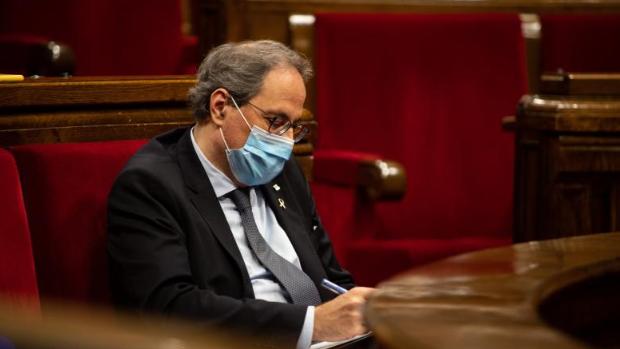 El Parlamento catalán aprueba declarar la región como «republicana» y define a la Monarquía como «delincuente»