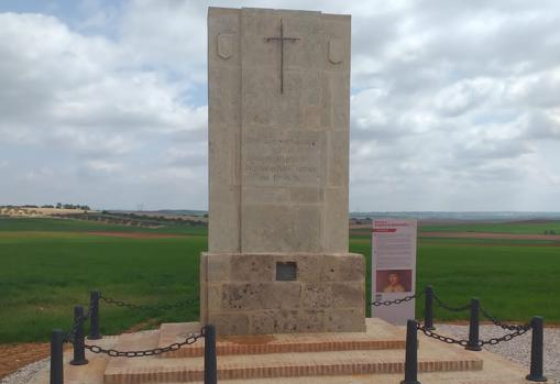 Cruz de don Jorge recién restaurada