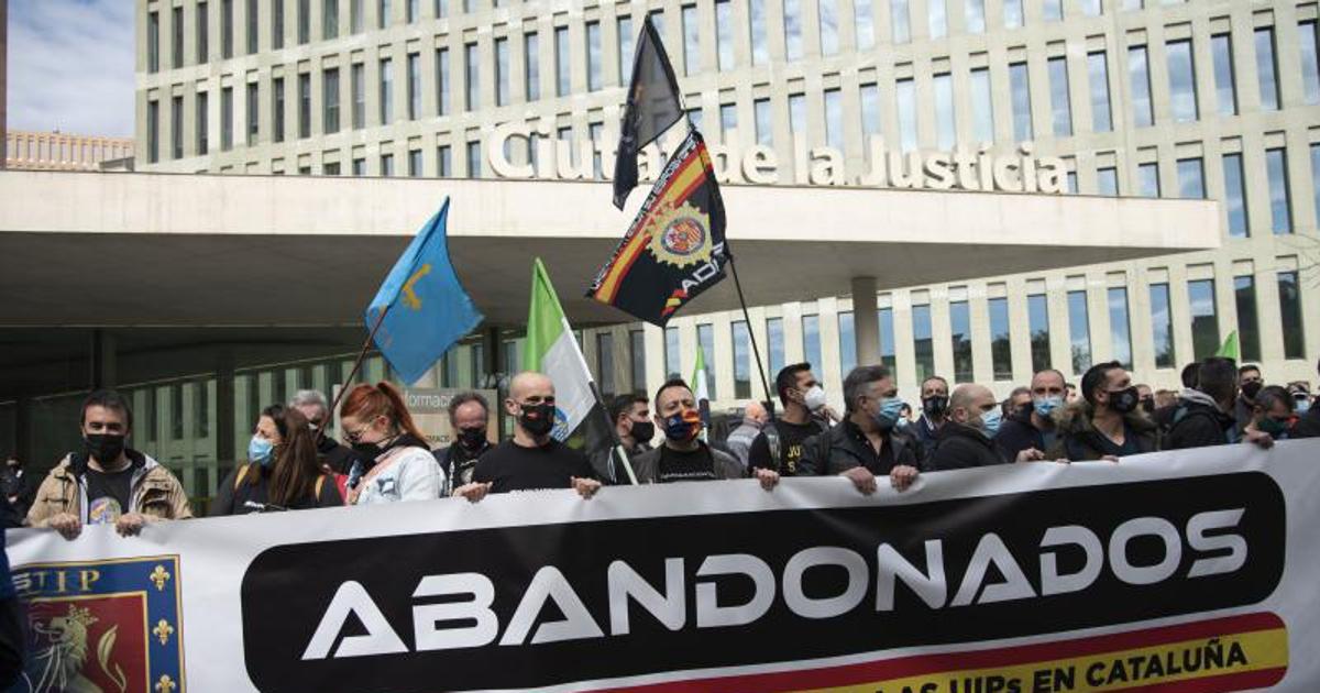 La paralización de la vacunación de policías y guardias civiles en Cataluña,  sobre la mesa del TSJC