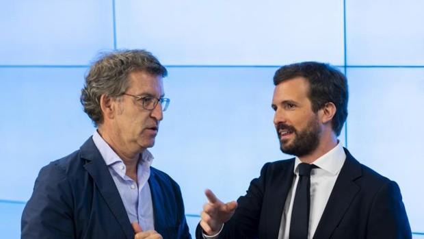 Feijóo pide un «cambio de ciclo político» en el PP, en pleno ascenso electoral