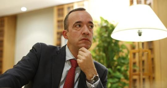 The former Secretary of State for Security, Francisco Martínez