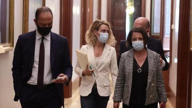 Batet y los miembros de la Mesa de PSOE y Podemos se enfrentan a su propia inhabilitación