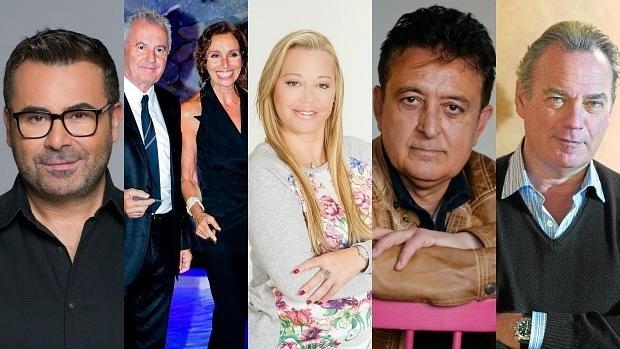Jorge Javier Vázquez, Victor Manuel, Belén Esteban, Manolo García y Bertín Osborne