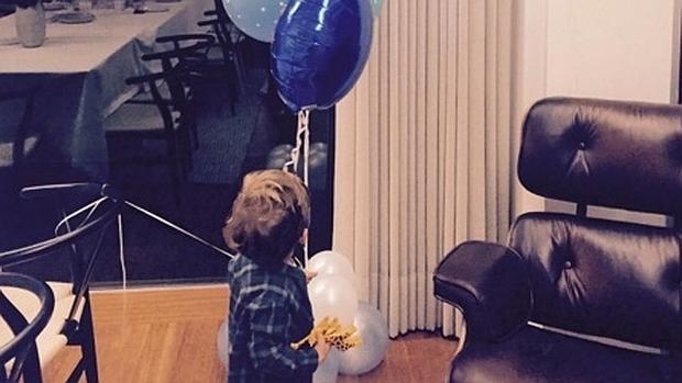Iker y Sara compartieron en sus respectivas redes sociales imágenes de la celebración del cumpleaños del pequeño