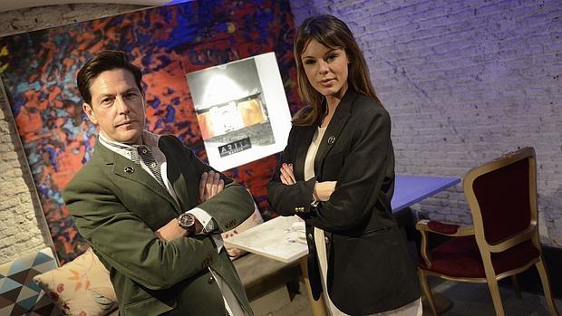 Óscar Lozano junto a su pareja y socia, Sandra Soto
