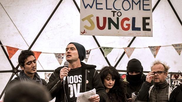 Law durante su intervención en Calais, este fin de semana