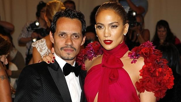 Jlo y Marc Anthony