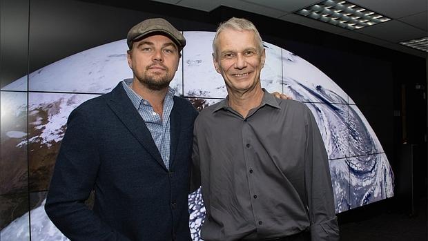 Leo DiCaprio y Piers Sellers