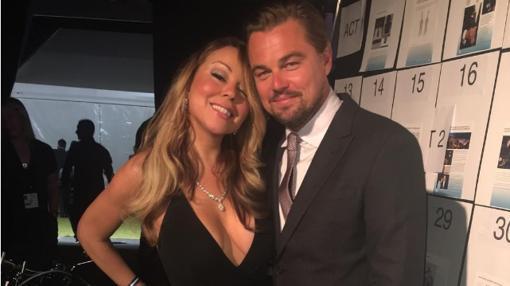 Mariah Carey y Leo DiCaprio
