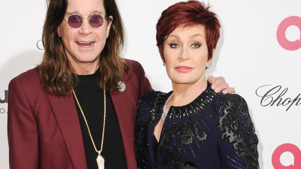 Ozzy y Sharon Osbourne antes de su separación
