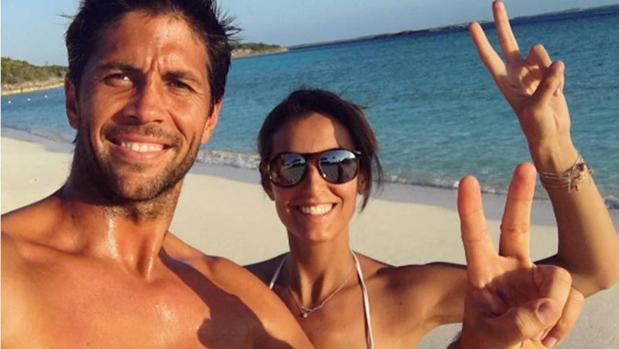Hcae unos meses Ana compartío una foto en la playa con su novio