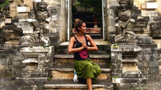 Lara Álvarez, vacaciones en Bali