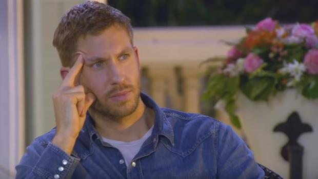 Captura del momento en que Harris se emociona en una audición