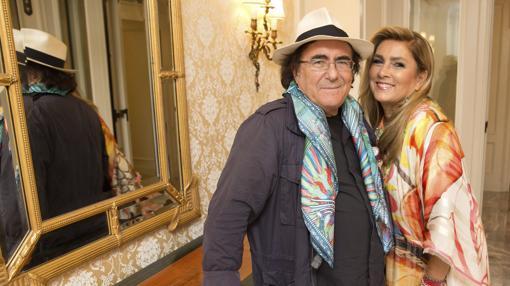 Al Bano e Romina nel 2015