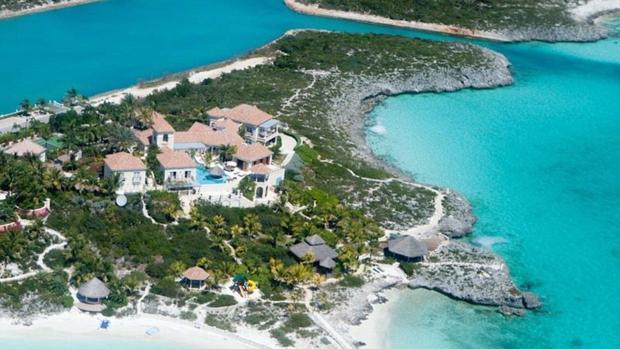 Desde que falleció Price, se ha hablado mucho de esta preciosa villa caribeña en las Islas Turcas y Caicos
