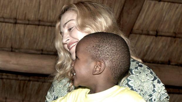 Madonna en Malawi