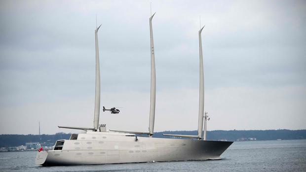 Andrey Melnichenko, el millonario ruso que asombra al mundo con un megayate de 143 metros de eslora