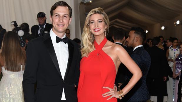 Ivanka Trump junto a su marido en la Gala Met del año pasado