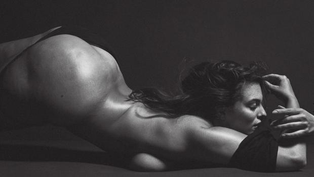 La modelo Ashley Graham