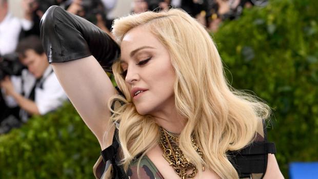 Madonna en una gala
