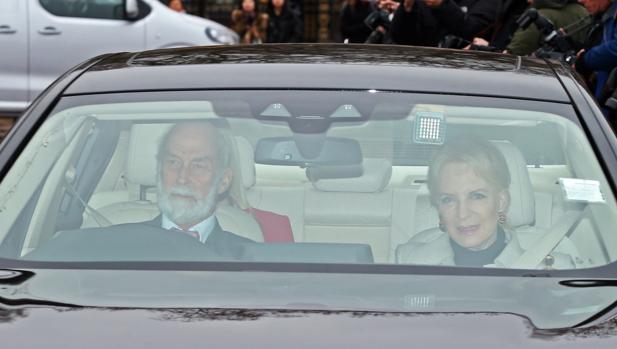 La princesa Michael de Kent con el polémico broche