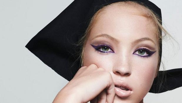 Lila Moss, en una imagen de la campaña