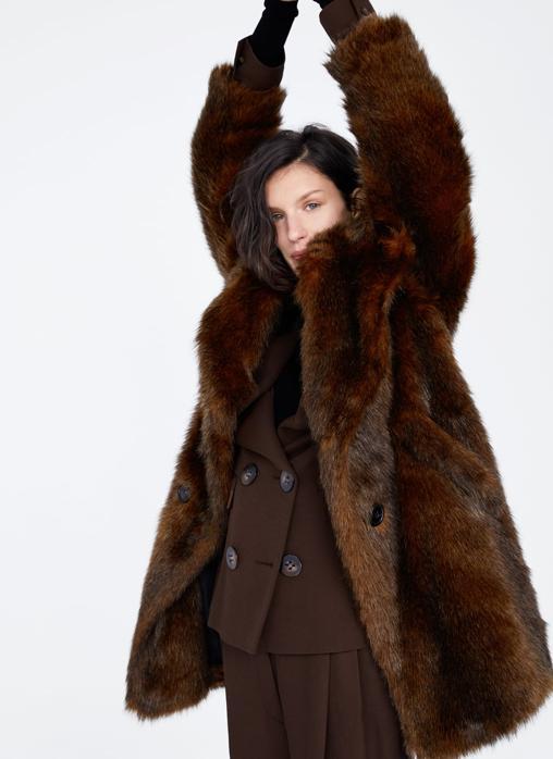zara mujer abrigos madrid