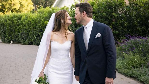 Chris Pratt y su mujer Katherine Schwarzenegger,