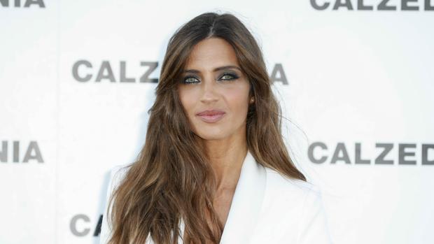 Sara Carbonero durante el photocall de la marca Calzedonia en Ibiza