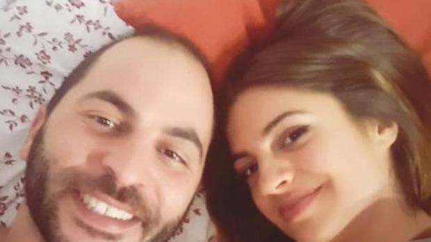 Antonio Tejado junto a su nueva novia