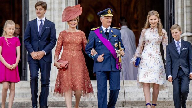 La Familia Real de Bélgica