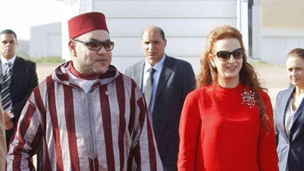 Mohamed VI y Lalla Salma
