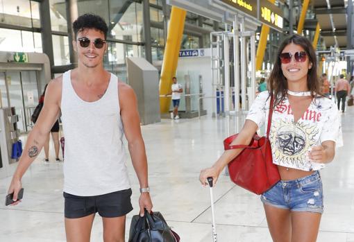 Jiménez y Suescun, a su llegada a Madrid