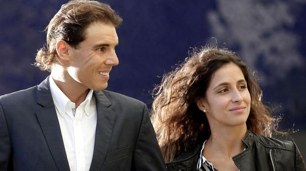 Rafa Nadal y su pareja, Mery Perelló