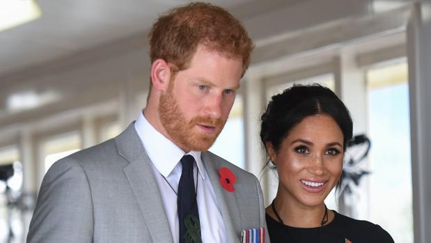 El Príncipe Harry y la duquesa de Sussex