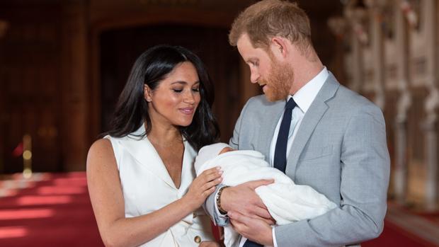 Meghan Markle, el Príncipe Harry y su hijo, Archie