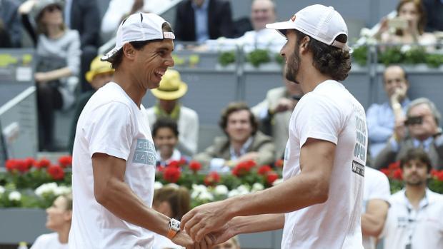 Rafa Nadal y Feliciano López
