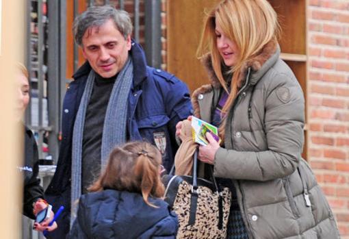 José Mota con su mujer y su hija