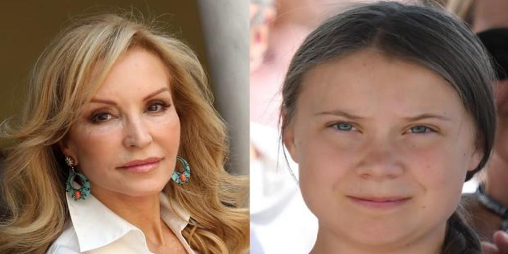 Carmen Lomana arremete contra Greta Thunberg: «Esta niña es patética»