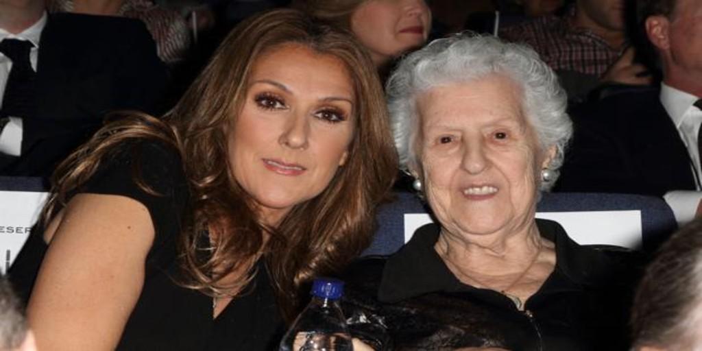 Fallece la madre de Céline Dion justo cuando se cumplen cuatro años de la muerte de su marido