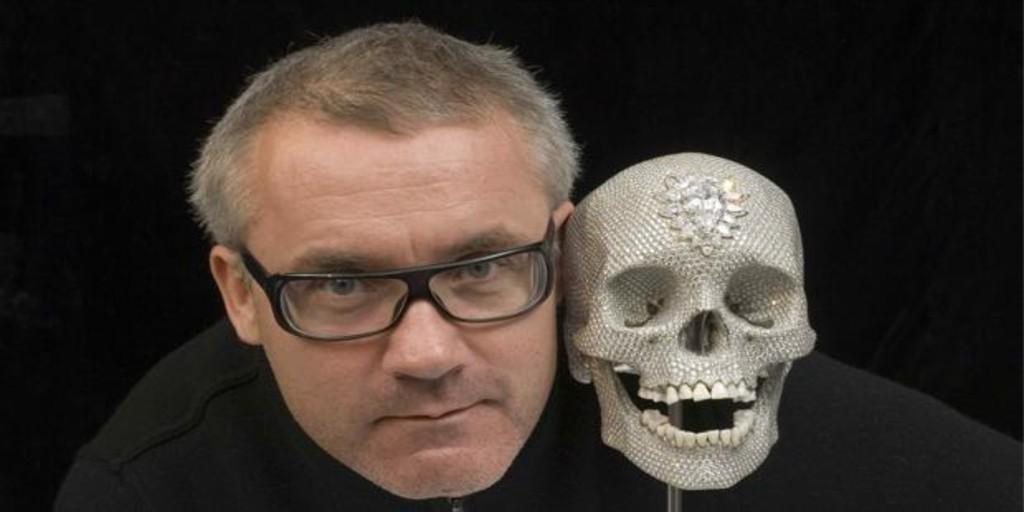 Cómo acabó en bancarrota Damien Hirst, el artista más rico