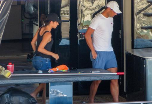 Rafa Nadal Y Mery Perello Estrenan En Familia Su Espectacular Nuevo Catamaran