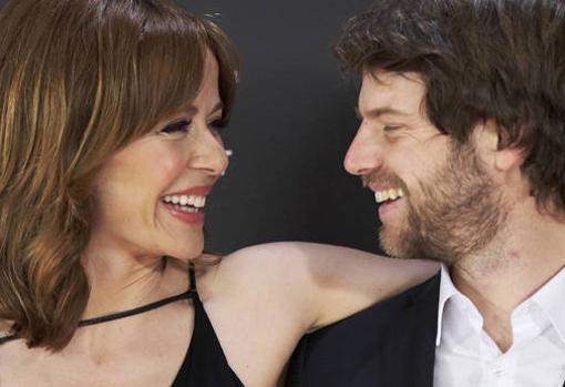 María Adanez y su pareja