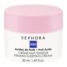 Tightening and firming night cream with alpha hydroxy acids from Sephora Collection (€ 16.99, only at Sephora).