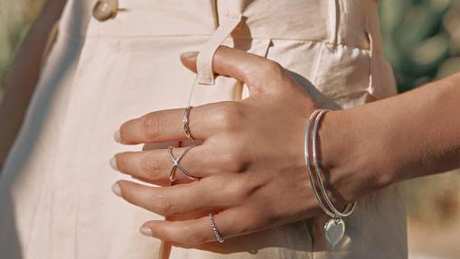 Silver jewelry from Tell me you love me